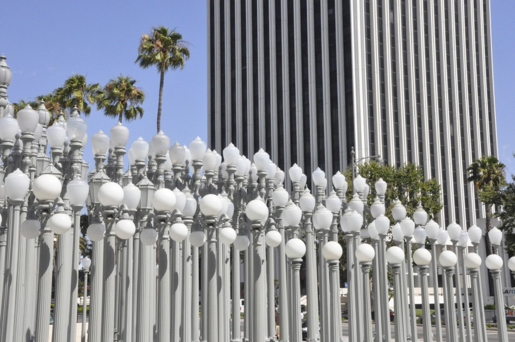 Urban Light by Chris Burden
